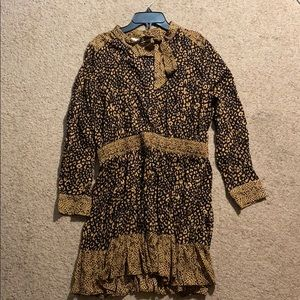 Zara Cheetah Dress (size M)